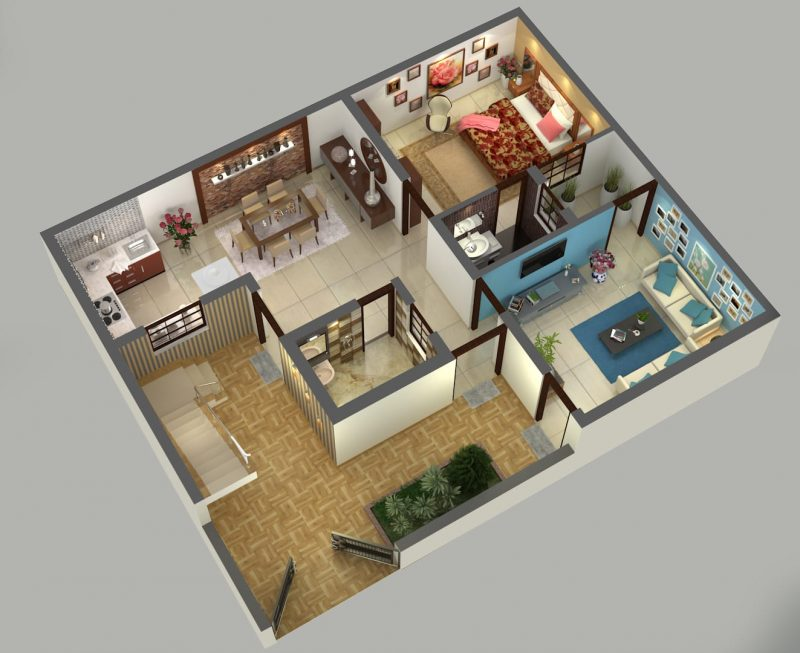 create-isometric-or-birdeye-view-of-floorplan